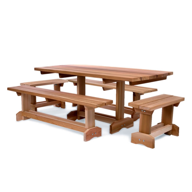 Five piece Picnic Market Table (10 person)