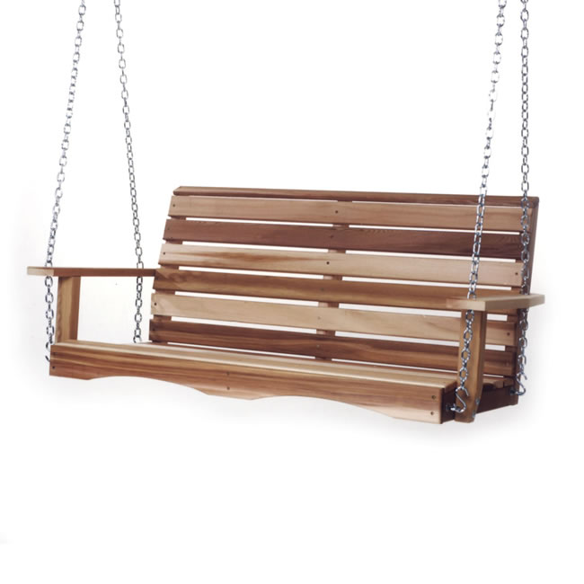 Four Foot Porch Swing with Comfort Swing Springs