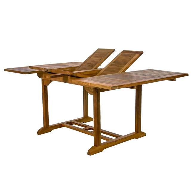 Teak Butterfly Extension Table