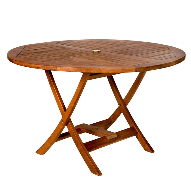 Teak Round Patio Table